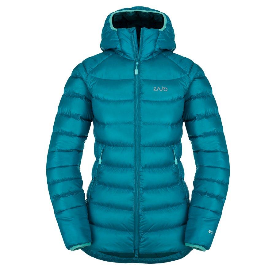 Péřová zimní dámská bunda Valbella W Jkt, Zajo
