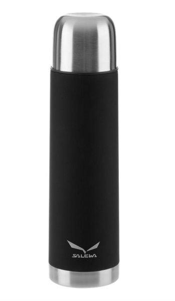 Černá nerez termoska Salewa - objem 1 l