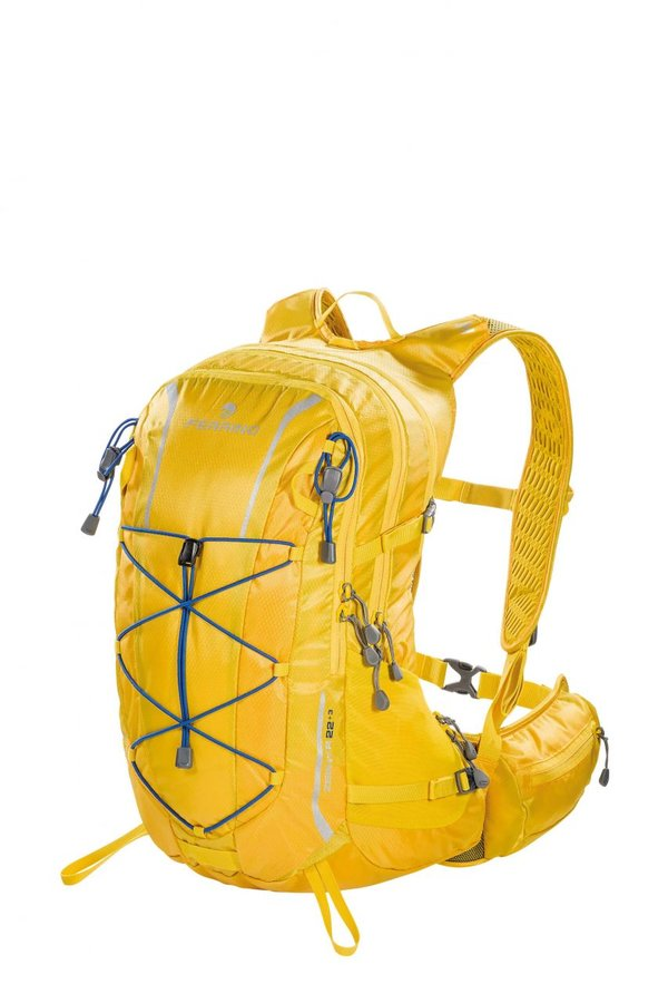 Žlutý běžecký batoh Zephyr 22+3 NEW, Ferrino - objem 22 l