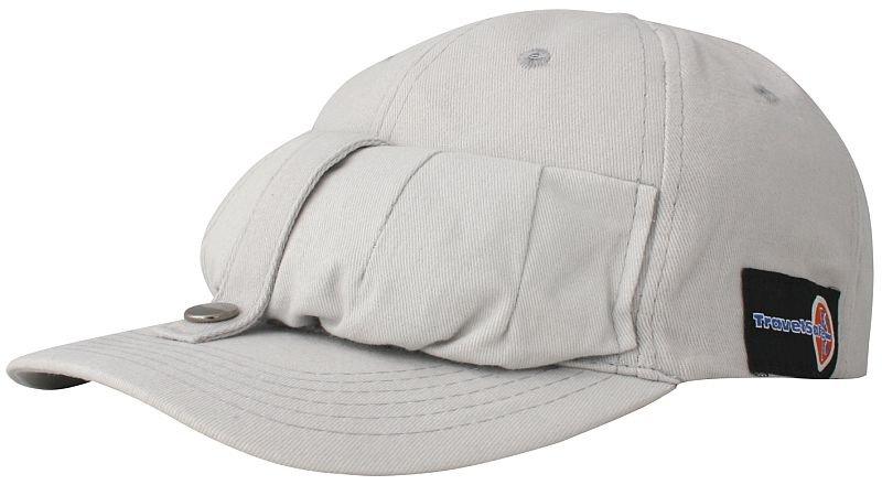 Béžová kšiltovka Netcap, TravelSafe