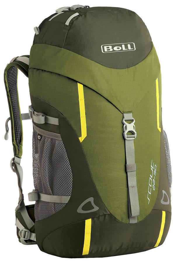 Zelený turistický batoh Scout 22-30, Boll