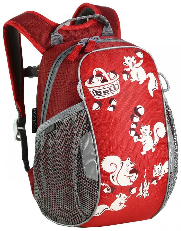 Červený dětský batoh Bunny 6, Boll - objem 6 l