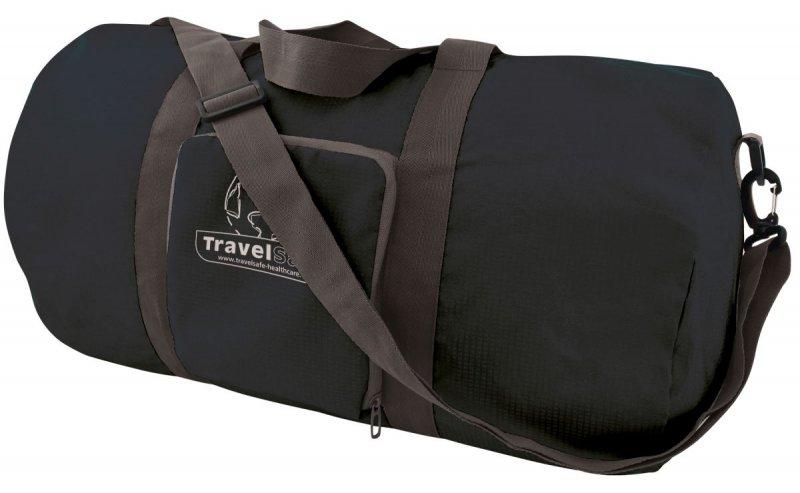 Černá cestovní taška Duffle Bag, TravelSafe - objem 50 l