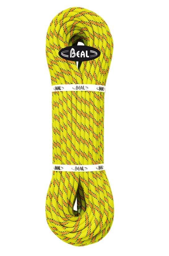 Žluté lano Karma, Beal - délka 50 m a tloušťka 9,8 mm