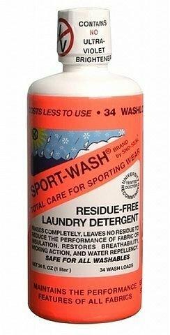 Prací prostředek na oblečení Atsko Sport-Wash® - objem 1 l