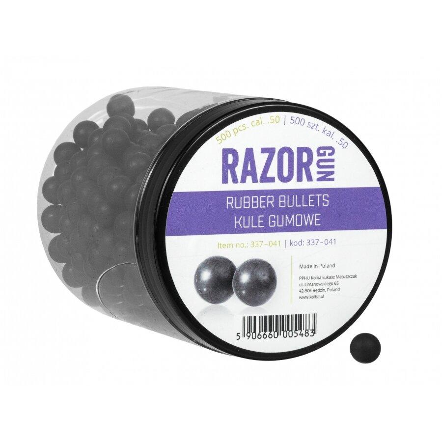 Kuličky RAM gumové RazorGun 0.5 500 ks