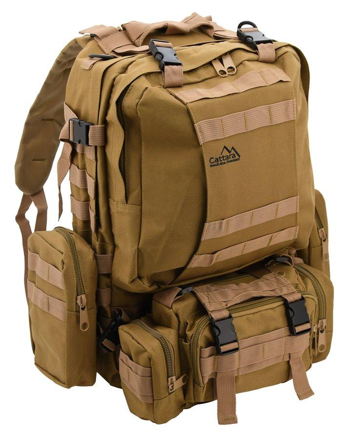 Hnědý batoh ARMY, Cattara - objem 55 l