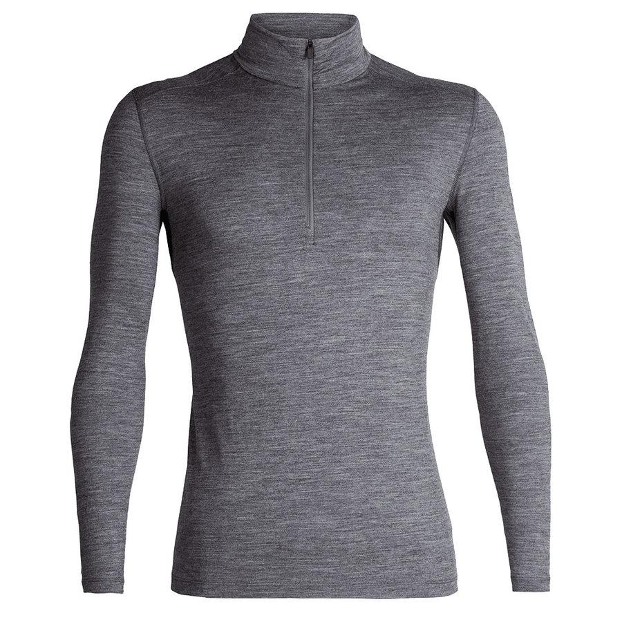 Merino tričko Mens 200 Oasis LS Half Zip, Icebreaker - velikost M