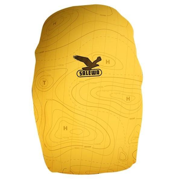 Žlutá pláštěnka na batoh Salewa - velikost M