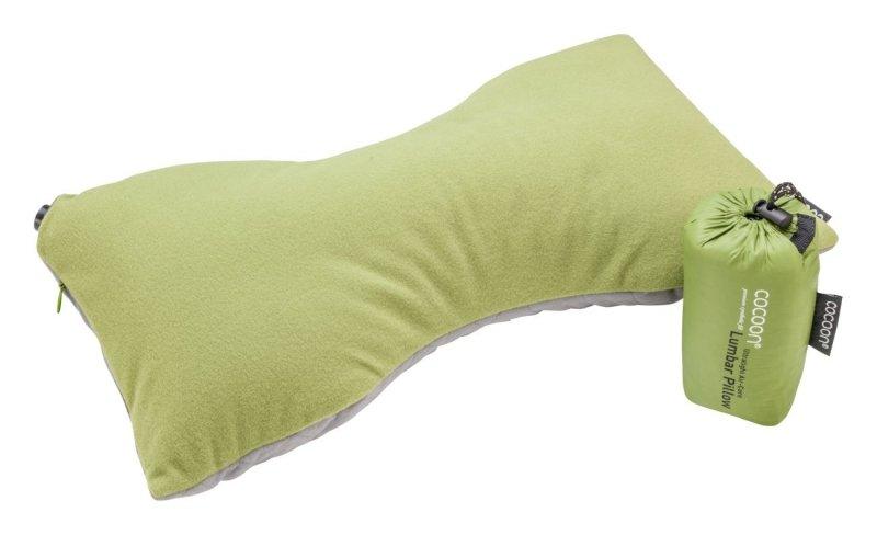Nafukovací polštář Ultralight Lumbar Pillow wasabi, Cocoon