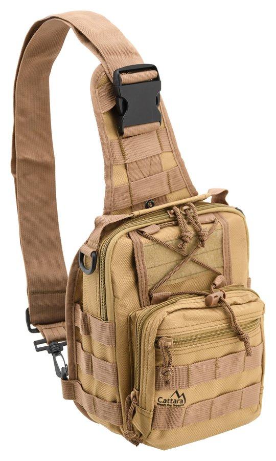 Hnědý batoh ARMY, Cattara - objem 10 l