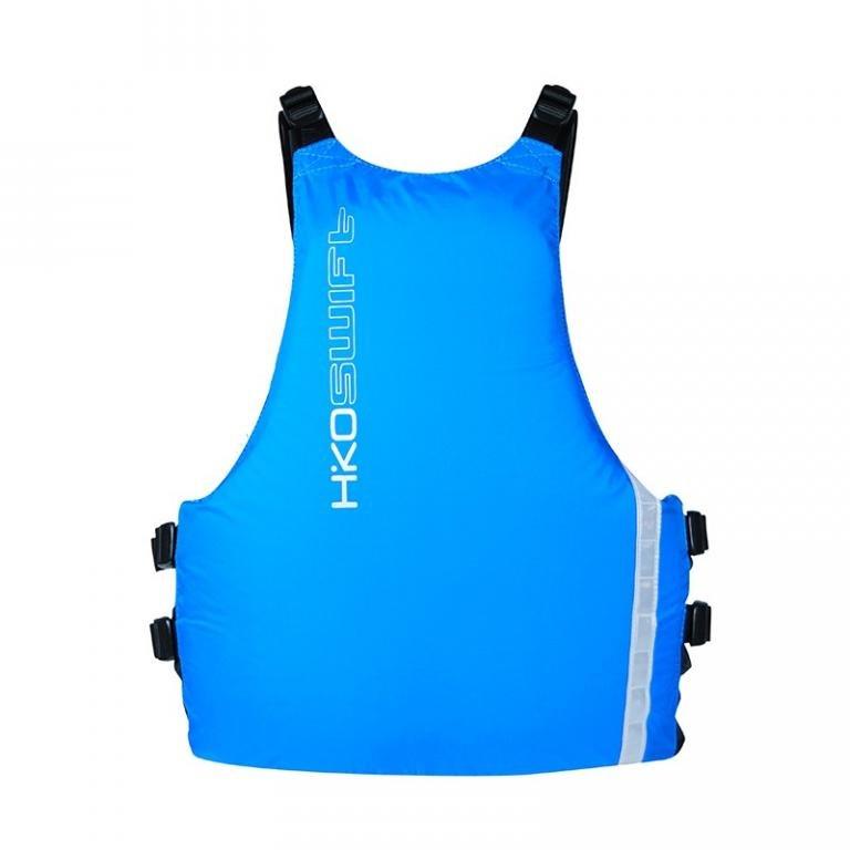 Modrá plovací plovací vesta Swift, Hiko - velikost S-M