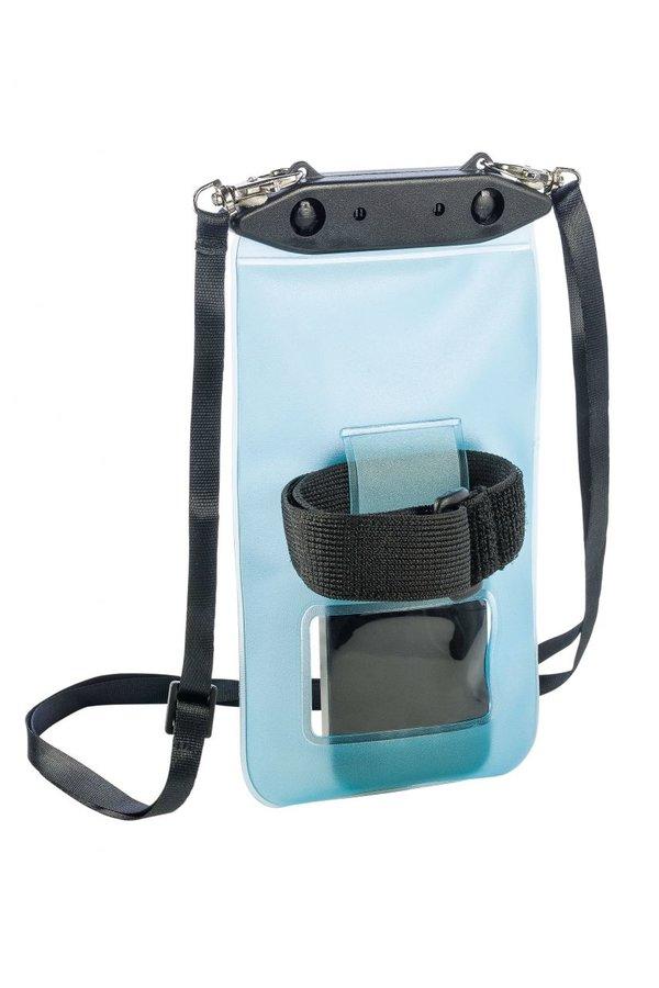 Modré vodotěsné pouzdro na telefon Ferrino TPU WATERPROOF BAG