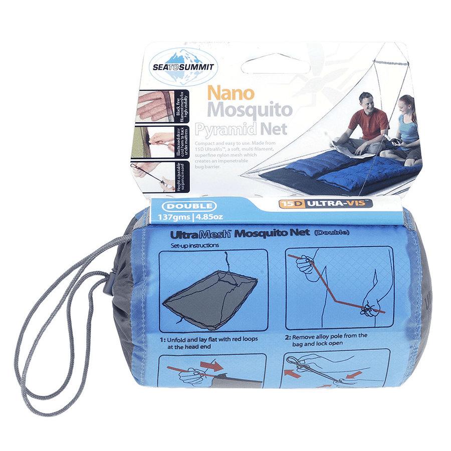 Moskytiéra pro 2 osoby Sea to Summit Nano Mosquito Net Double Double