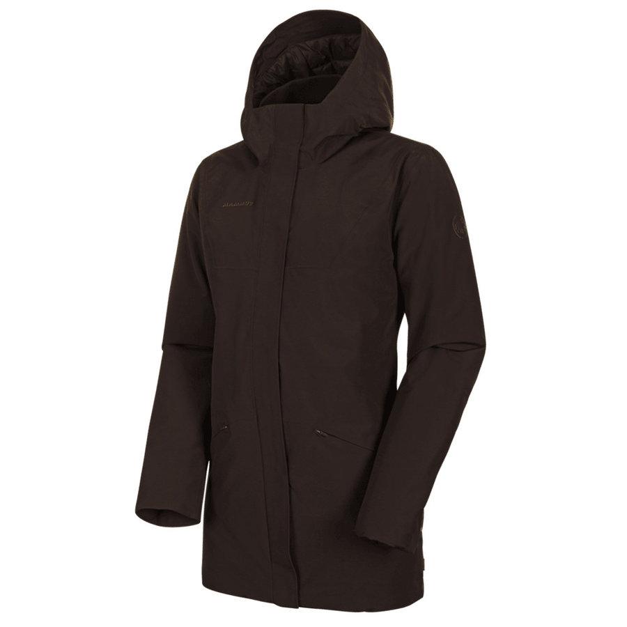 Nepromokavý dámský kabát Chamuera HS Thermo Hooded Parka Women, Mammut - velikost M