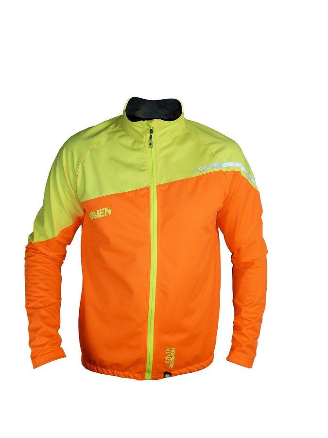 Oranžová pánská bunda TRUFEEL, Haven