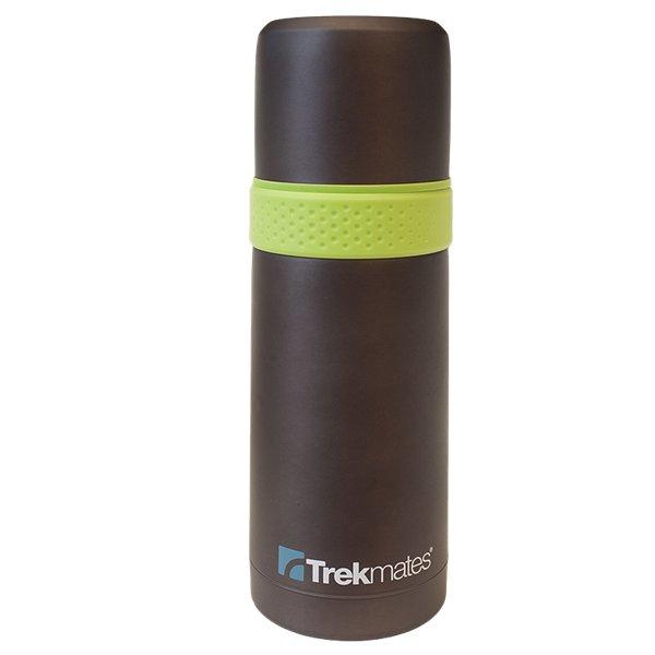 Černá termoska Vacuum flask with cup, Trekmates - objem 0,5 l