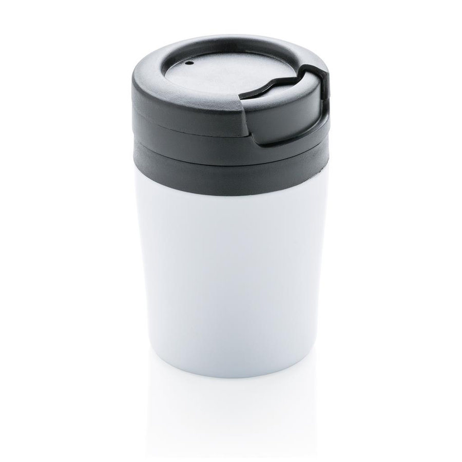 Bílý hrnek termo Coffee to Go, XD Design - objem 160 ml