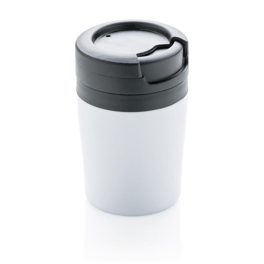 Bílý hrnek termo XD Design Coffee to Go - objem 160 ml