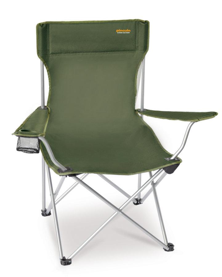 Zelená skladací židle Pinguin Fisher chair