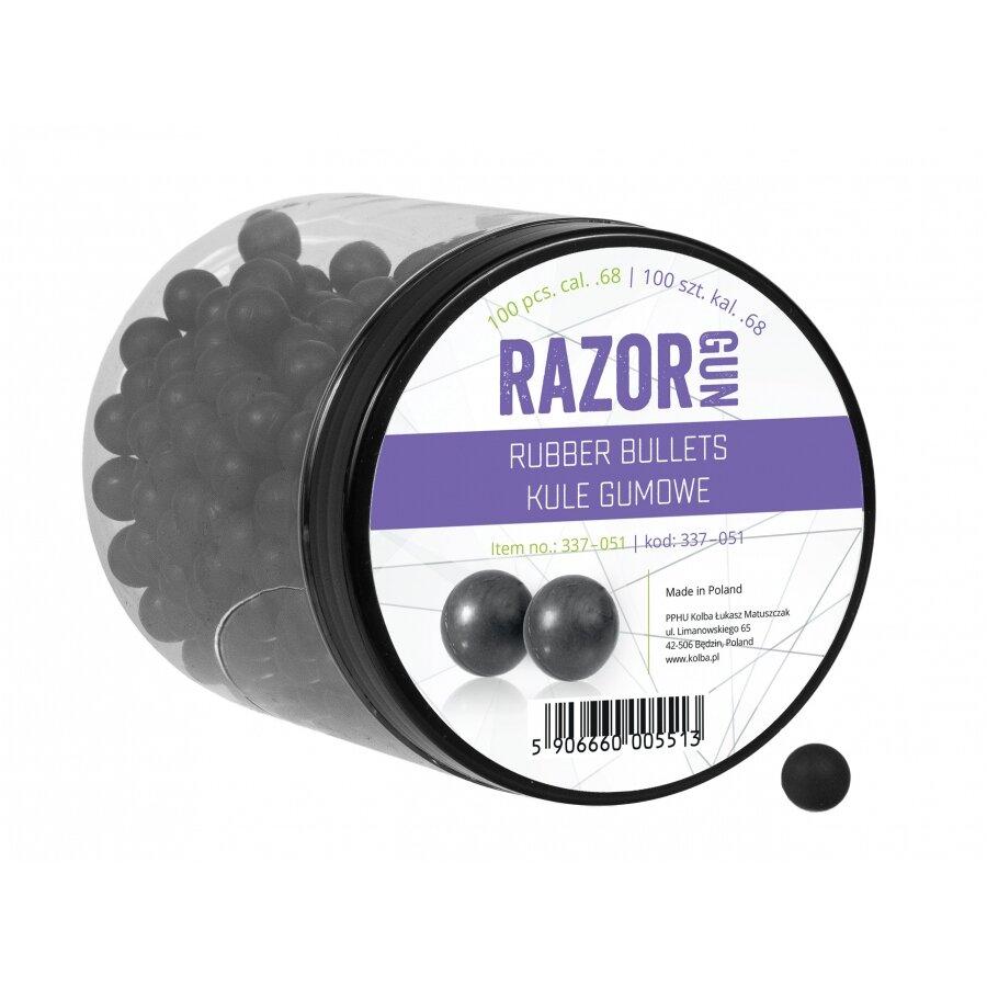 Kuličky RAM gumové RazorGun 0.68 100 ks