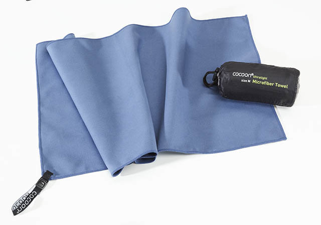 Modrý rychleschnoucí ručník fjord blue, Cocoon