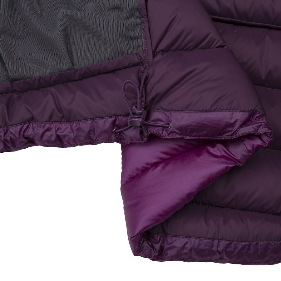 Péřová zimní dámská bunda Valbella W Jkt, Zajo - velikost 3XL