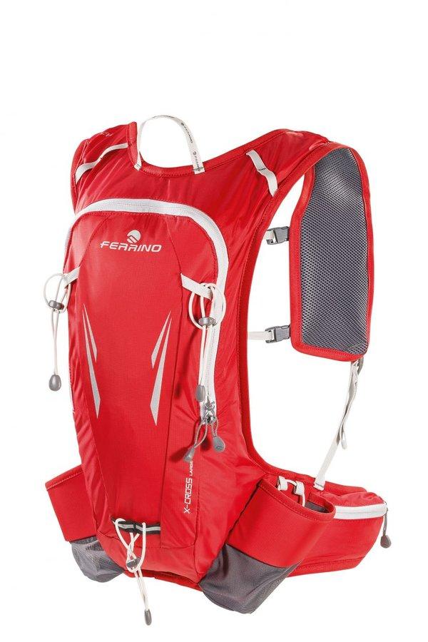 Červený běžecký batoh X-CROSS 12 NEW, Ferrino - objem 12 l
