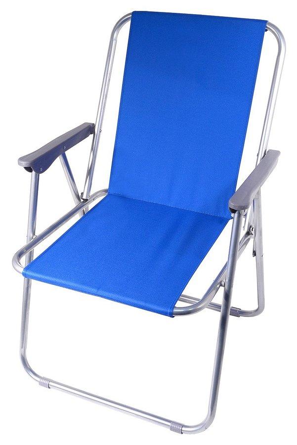 Modrá skladací kempingová židle Cattara BERN