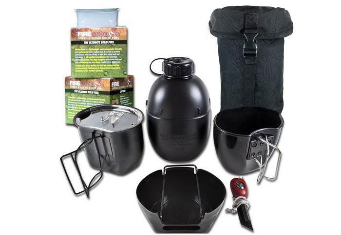 Sada nádobí Crusader Cooking System, BCB Adventure