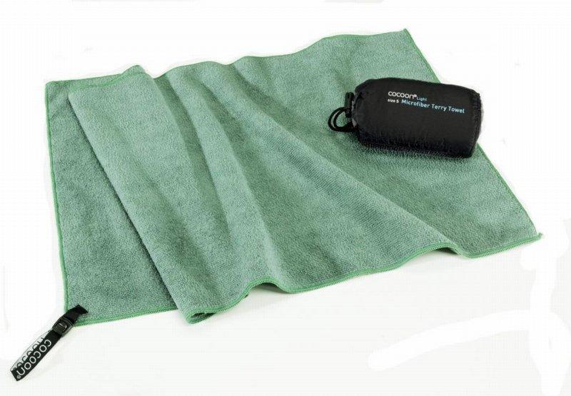 Zelený rychleschnoucí ručník Cocoon - velikost L