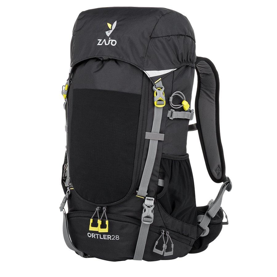 Černý turistický batoh Ortler 28 Backpack, Zajo - objem 28 l
