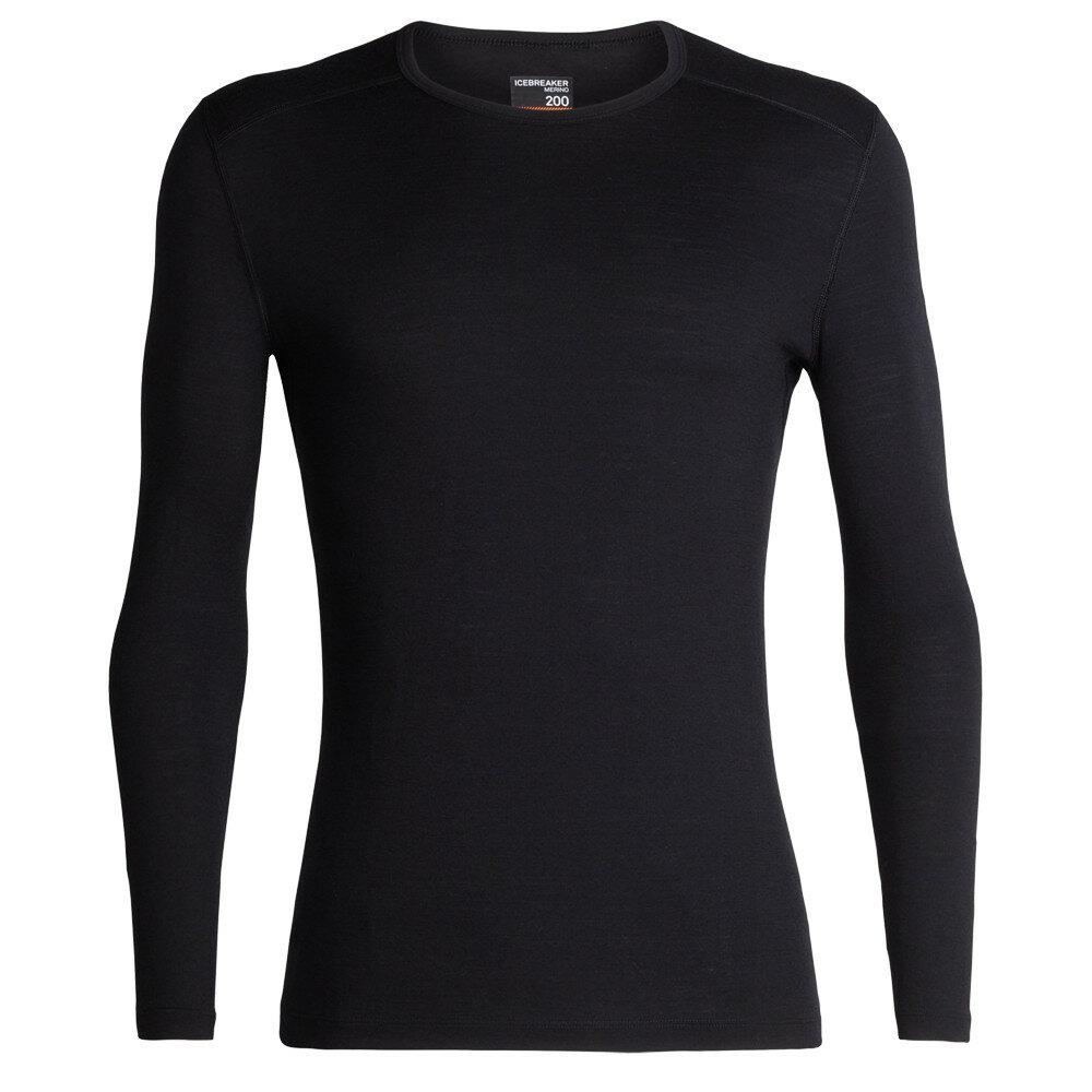 Merino pánské tričko Icebreaker 200 Oasis LS Crewe