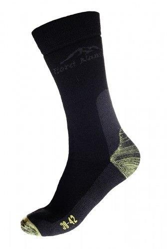 Černé pánské ponožky Mountain Kevlar, Fjord Nansen