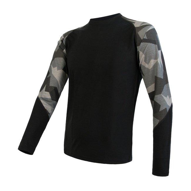 Černé pánské tričko IMPRESS, Sensor - velikost L