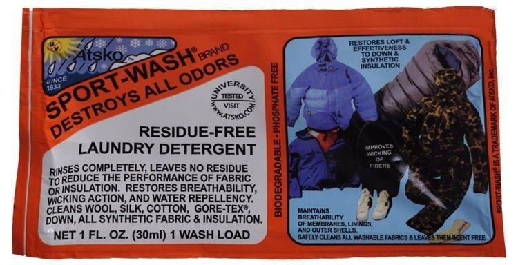 Prací prostředek na oblečení Sport-Wash®, Atsko - objem 30ml