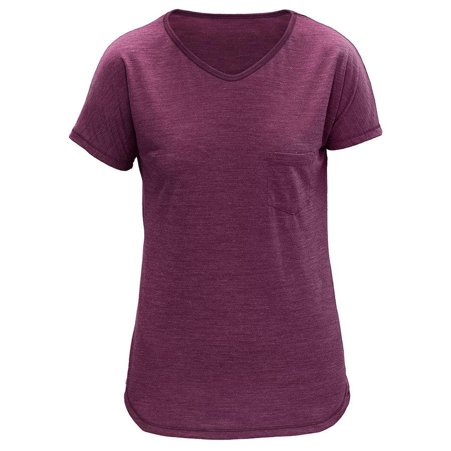 Merino dámské tričko HERDAL WOMAN TEE, Devold - velikost L