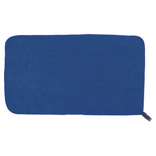 Modrý rychleschnoucí ručník terry, Jurek S+R - velikost M a 48x90 cm