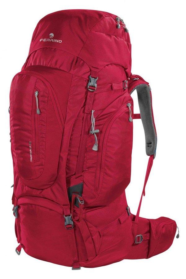 Černý turistický batoh TRANSALP 60 2019, Ferrino - objem 60 l