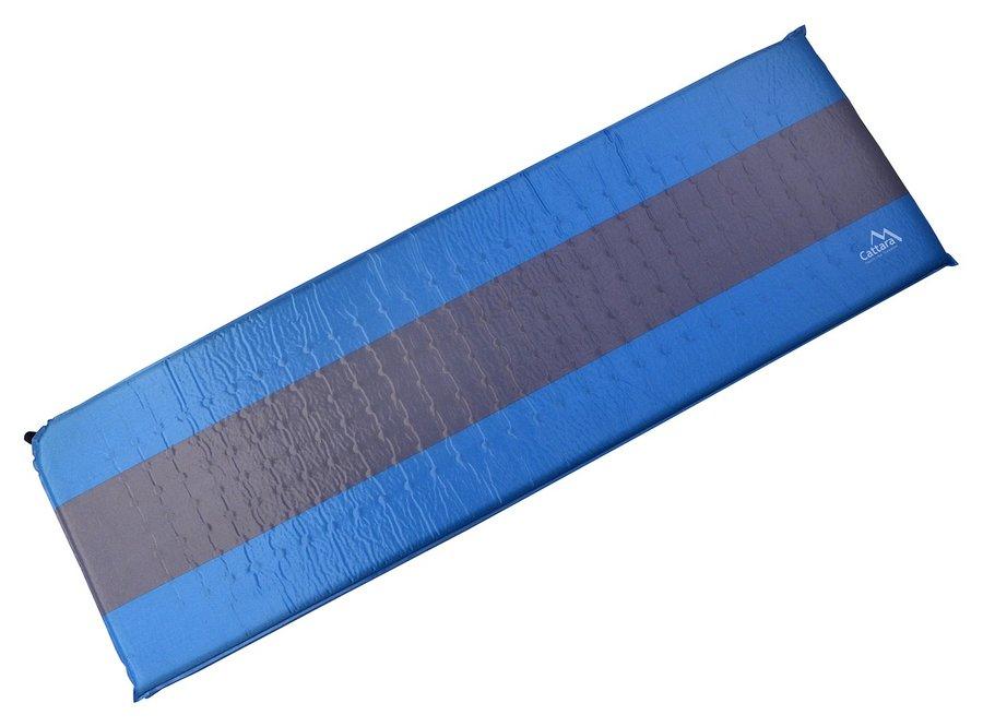 Modrá samonafukovací karimatka Cattara - délka 195 cm, šířka 60 cm a tloušťka 5 cm