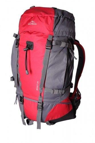 Červený lezecký batoh Akset 35, Fjord Nansen - objem 35 l