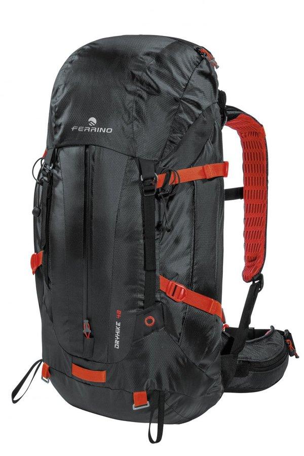Černý turistický batoh Dry Hike 48+5, Ferrino - objem 48 l
