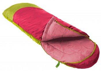 Růžový dekový dětský spacák s levým zipem PARROT 300, Prima