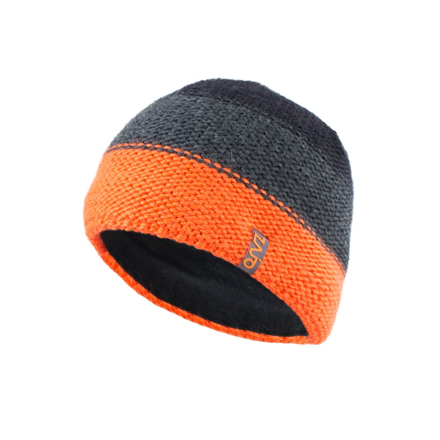 Oranžová vlněná čepice Lauri M Beanie, Zajo - velikost UNI