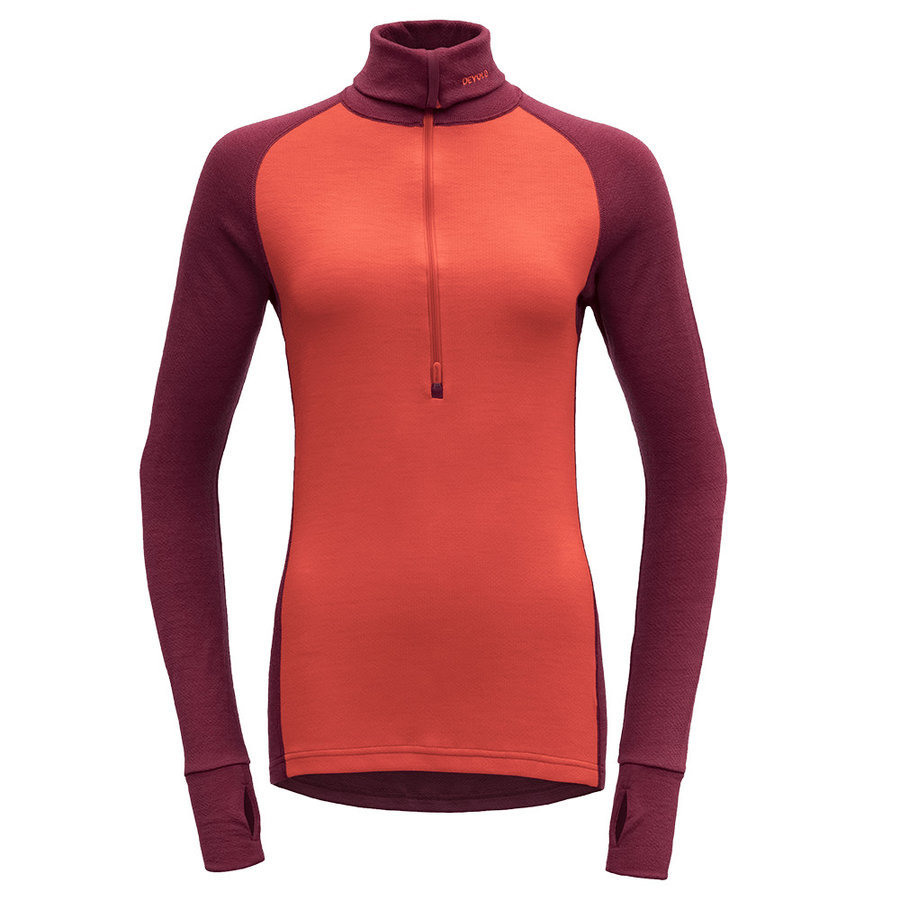 Merino dámské tričko EXPEDITION WOMAN ZIP NECK, Devold