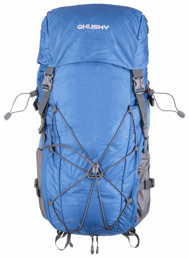 Modrý turistický batoh Slotr 40l, Husky - objem 40 l