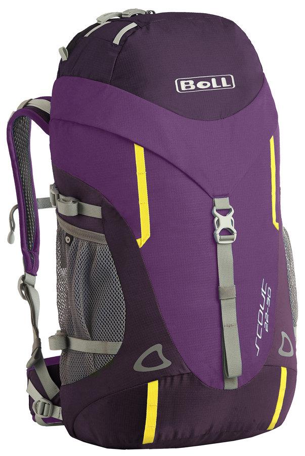 Fialový turistický batoh Scout 22-30, Boll