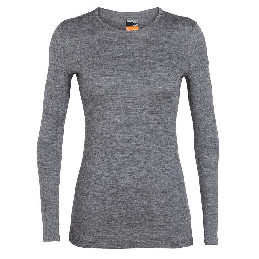 Merino dámské tričko Wmns 200 Oasis LS Crewe, Icebreaker