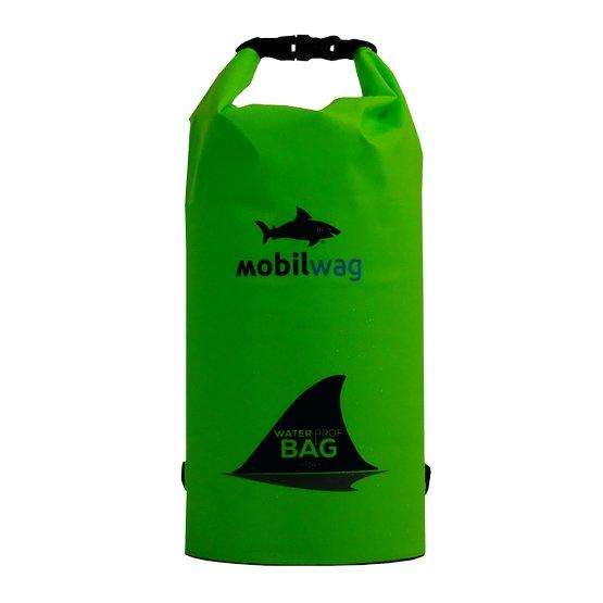 Zelený vodotěsný vak Mobilwag - objem 60 l