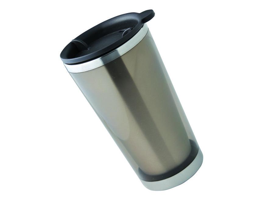 Šedý hrnek termo PLR550 Winemuca, Baladeo - objem 350 ml
